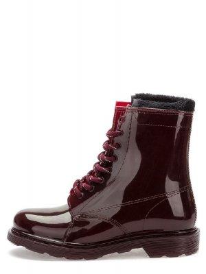 Резиновые ботинки Keddo. Цвет: бордовый