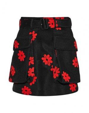 Мини-юбка SIMONE ROCHA. Цвет: черный