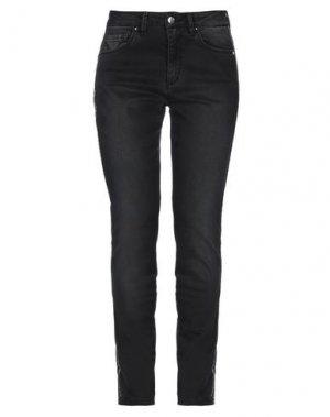 Джинсовые брюки D.EXTERIOR. Цвет: черный