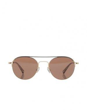 Солнечные очки MAISON MARGIELA. Цвет: золотистый