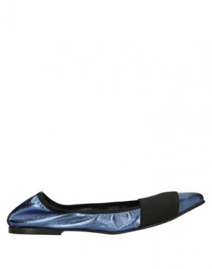 Балетки BALLERINA. Цвет: синий
