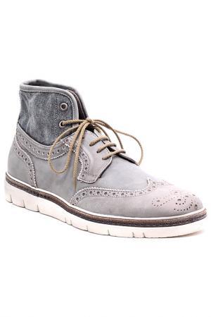 Ботинки AREA FORTE. Цвет: серый