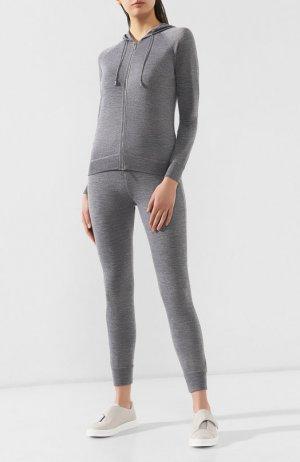 Спортивный костюм Moorer. Цвет: серый