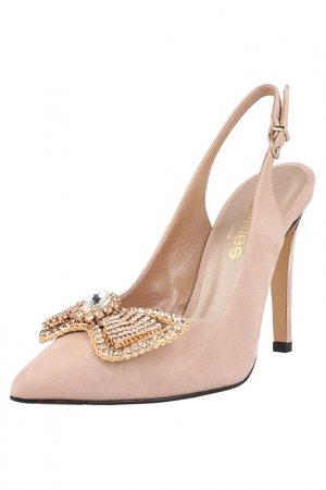 Босоножки EL Dantes. Цвет: light pink