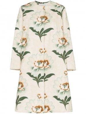 Пальто Tanita с цветочным принтом By Walid