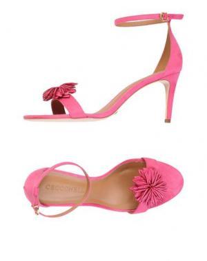 Сандалии CECCONELLO. Цвет: розовый