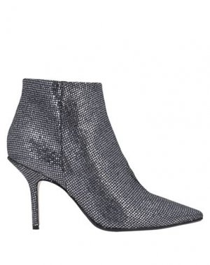 Полусапоги и высокие ботинки ANNA F.. Цвет: серебристый