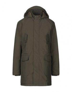Пальто BARACUTA. Цвет: зеленый-милитари