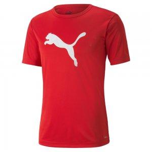 Футболка individualRISE Logo Mens Football Tee PUMA. Цвет: красный