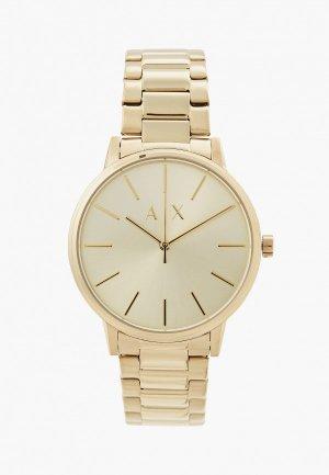 Часы Armani Exchange AX2707. Цвет: золотой