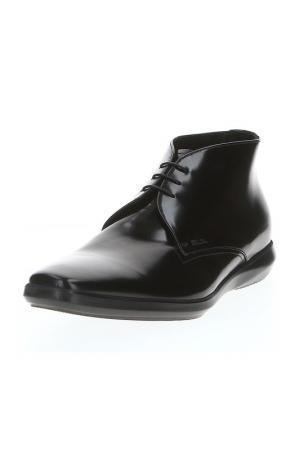 Ботинки Prada. Цвет: черный