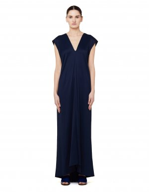 Длинное платье Remi с завязками на спине The Row