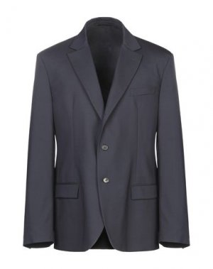 Пиджак ERMANNO SCERVINO. Цвет: темно-синий