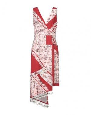 Платье до колена ALTUZARRA. Цвет: красный