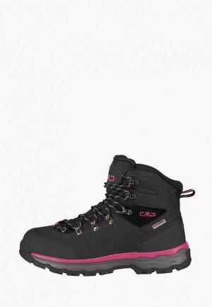 Ботинки CMP SHELIAK WMN TREKKING SHOES WP. Цвет: черный