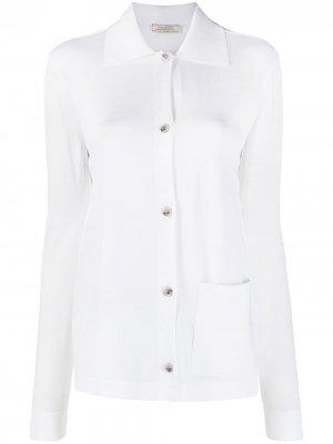 Кардиган с накладным карманом Nina Ricci. Цвет: белый