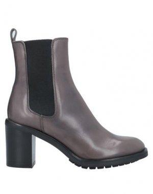 Полусапоги и высокие ботинки AGL ATTILIO GIUSTI LEOMBRUNI. Цвет: свинцово-серый