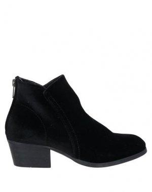 Полусапоги и высокие ботинки HUDSON. Цвет: черный