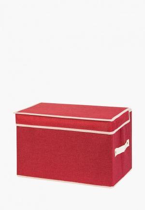 Короб для хранения El Casa. Цвет: красный