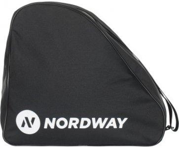 Сумка для ледовых коньков Nordway. Цвет: черный