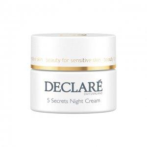 Ночной восстанавливающий крем 5 Secrets Night Cream Declare. Цвет: бесцветный