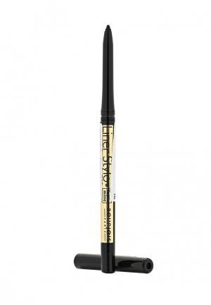 Карандаш для глаз Bourjois с выдвигающимся стержнем Liner Stylo, 61 Ultra Black, 0,28 гр. Цвет: черный