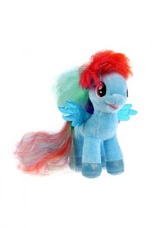 Игрушка мягкая пони Радуга Мульти-пульти. Цвет: голубой
