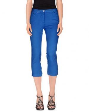 Джинсовые брюки-капри PAUL & SHARK. Цвет: лазурный