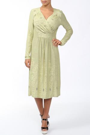 Платье Lissa. Цвет: желтый