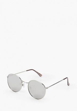 Очки солнцезащитные Topman. Цвет: серый