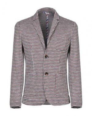 Пиджак KOON. Цвет: красно-коричневый