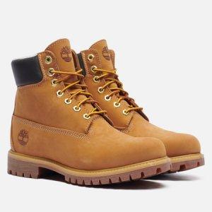 Мужские ботинки 6 Inch Premium Waterproof Warm Lined Timberland. Цвет: коричневый