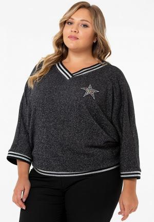 Пуловер CnScollection. Цвет: серый