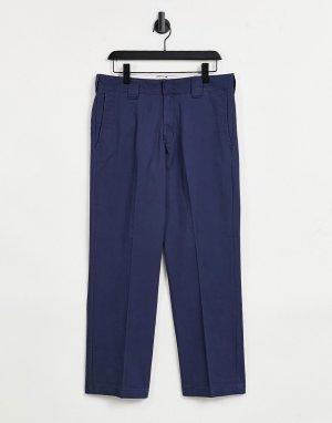 Темно-синие брюки Vancleve-Темно-синий Dickies