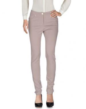 Повседневные брюки 22 MAGGIO by MARIA GRAZIA SEVERI. Цвет: голубиный серый