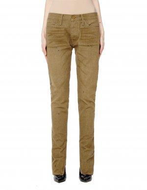 Зауженные джинсы цвета хаки Fear of God