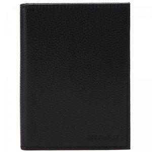 Обложка для паспорта Coccinelle. Цвет: чёрный