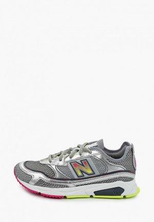Кроссовки New Balance Xracer. Цвет: серый