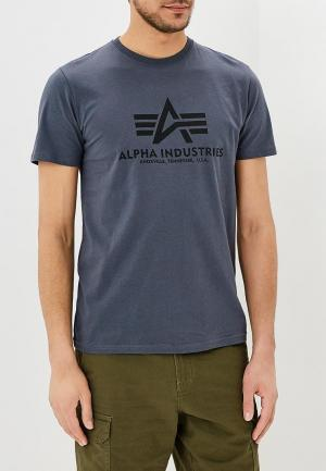 Футболка Alpha Industries Basic T. Цвет: серый