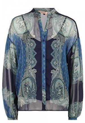 Блуза TWINSET. Цвет: синий