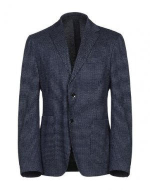 Пиджак CANTARELLI JERSEY PLANET. Цвет: темно-синий