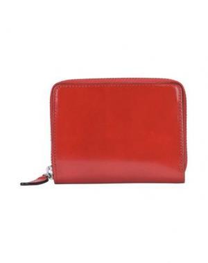 Бумажник IL BUSSETTO. Цвет: красный