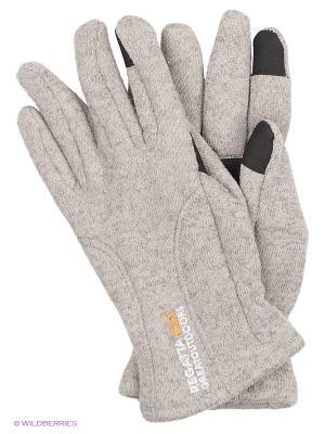 Перчатки Polarize Glove REGATTA. Цвет: серебристый, кремовый, серо-зеленый