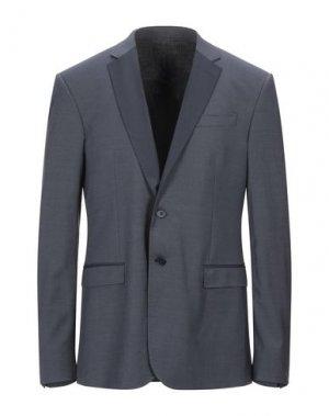 Пиджак BIKKEMBERGS. Цвет: свинцово-серый