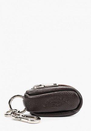 Ключница Franco Frego. Цвет: коричневый