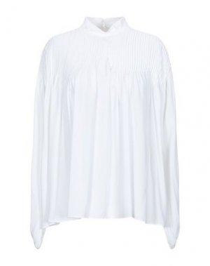 Блузка GILMAR. Цвет: белый