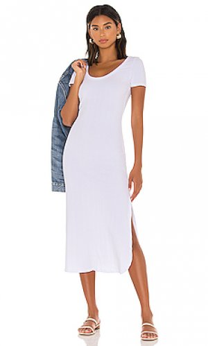 Платье-футболка catalina vitamin A. Цвет: белый