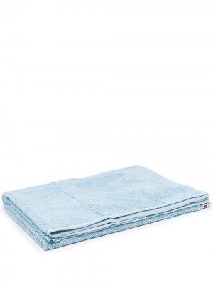 Пляжное полотенце из органического хлопка TEKLA. Цвет: синий