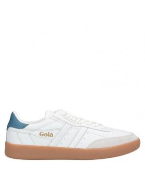 Низкие кеды и кроссовки GOLA. Цвет: белый