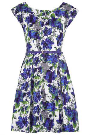 Платье Louche. Цвет: мультицвет
